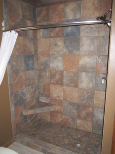Custom Showers Riggs Flooring and Luxury Bath